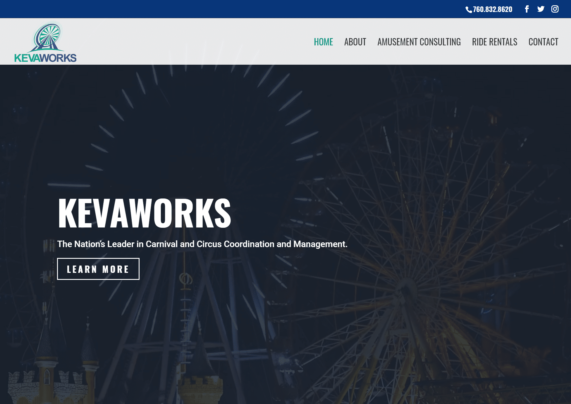 Kevaworks new website